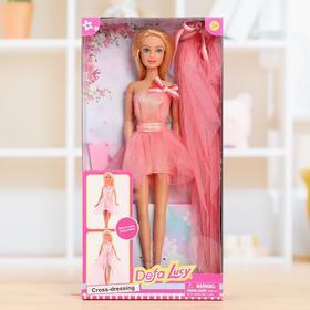 Кукла модель «Алла» в платье 2в 1, МИКС
