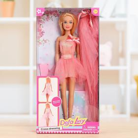 Кукла-модель «Алла» в платье 2 в 1, МИКС