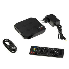 Приставка Смарт ТВ A95X R2 2.16, 2 Гб, 16 Гб, Android, 4K, Wi-Fi, HDMI-кабель, черная Ош