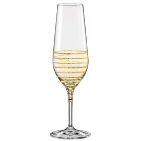 Набор бокалов для шампанского «Аморосо», 200 мл, 2 шт.