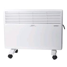 Обогреватель SONNEN X-1500, конвекторный, 1500 Вт, до 15 м2, напольный/настенный, белый