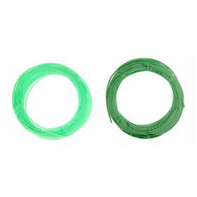 Пластик PCL для 3D ручки, длина: 5 м, цвета зеленого МИКС