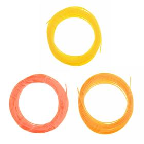 Пластик PCL для 3D ручки, длина: 5 м, цвета желтого МИКС