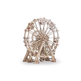 Механический 3D-пазл из дерева «Колесо Обозрения»