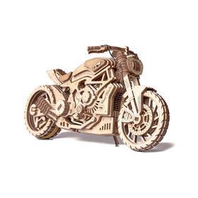 Механическая сборная модель «Мотоцикл DMS»