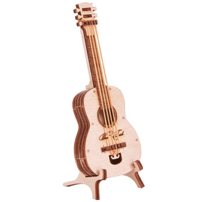 3D-пазл из дерева «Вудик Гитара»