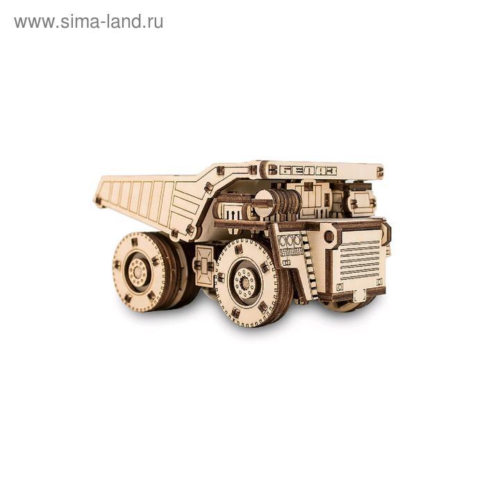 Конструктор деревянный 3D «BELAZ MINI»
