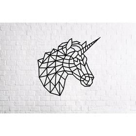 Деревянный интерьерный пазл «Единорог»