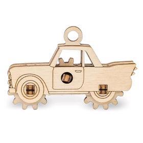 Деревянный конструктор-брелок «Эвик: Автомобиль»