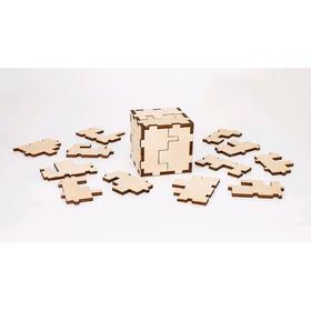 Деревянный конструктор-головоломка «Cube 3D puzzle»