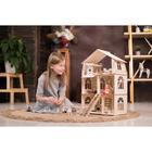 Конструктор-кукольный домик «Коттедж с мебелью Premium» - Фото 16
