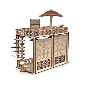 Кукольный дом «Лофт» с мебелью для кукол 30 см