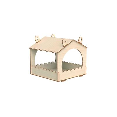Конструктор деревянный «Кормушка для птиц» - Фото 1