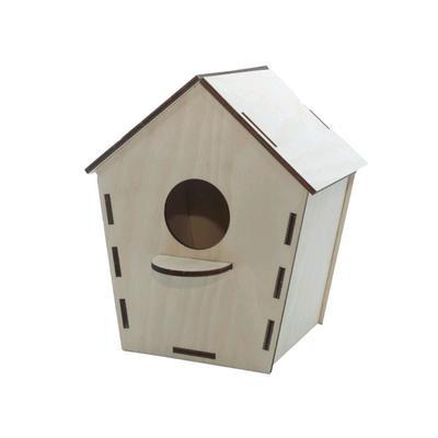Конструктор деревянный «Скворечник для птиц» - Фото 1