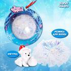 Игрушка в снежинке «Верь в чудеса» (фигурка и резинка для волос)