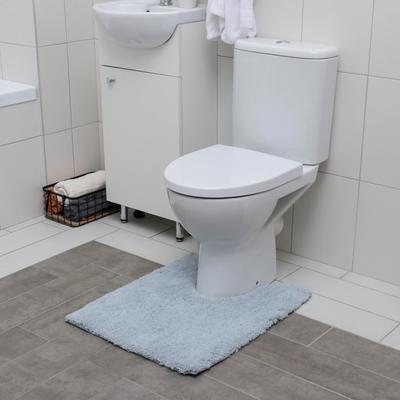 Коврик для туалета «Моно», 50×60 см, цвет МИКС