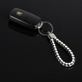Брелок для ключей Cartage, петля, черно-белый Ош
