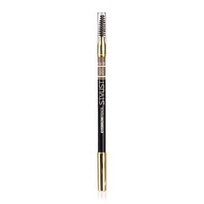 Карандаш для бровей TF Eyebrow Pencil Stylist со щёточкой, тон №201 пепельный блонд - Фото 1