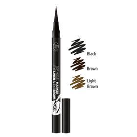 Маркер для глаз и бровей TF Top Model marker Eyeliner & Eyebrow, light brown