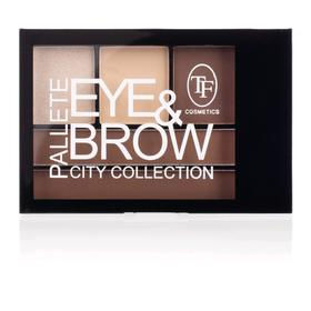 Тени для коррекции бровей и глаз палетка TF Eye & Brow Palette City, тон 02C