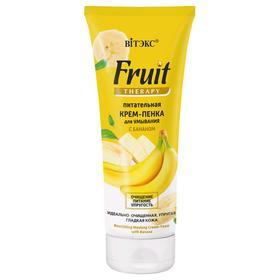 Крем-пенка для умывания Bitэкс Fruit Therapy питательная, с бананом, 200 мл