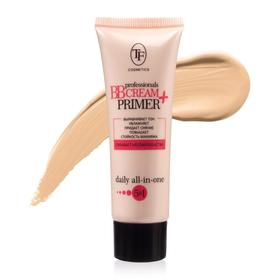 Увлажняющий тональный крем TF Prof BB Cream+Primer, тон 01 светлый
