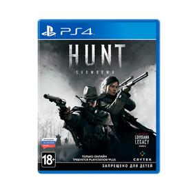 Игра для Sony Playstation 4 Hunt: Showdown Стандартное издание