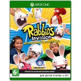 Игра для Xbox One Rabbids invasion интерактивный мультсериал (для kinect)