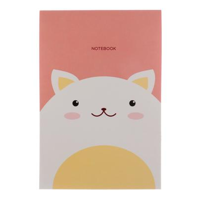 """Блокнот А6, 40 листов на клею """"Кот. Дизайн-6"""", обложка мелованный картон, блок офсет 70 г/м2 - Фото 1"""