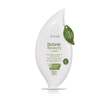 Органический шампунь Amend Botanic Beauty Anti Age для волос с экстрактом жасмина и маслом моринги, 250 мл - Фото 1