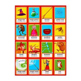 Буклет. Герои сказок. Обучающая игра в картинках для детей от 7 лет
