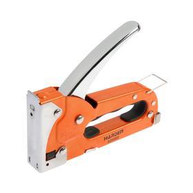 Степлер мебельный HARDEN 620802, профессиональный, тип скобы 53