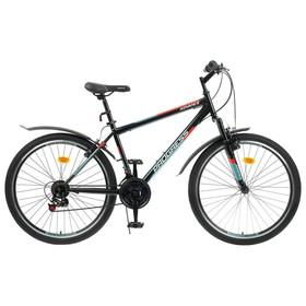 """Велосипед 26"""" Progress модель Advance RUS, цвет черный, размер 17"""""""