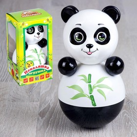 Неваляшка «Панда» в художественной упаковке, МИКС