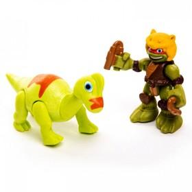 Фигурка «Дино Майк» с Брахиозавром