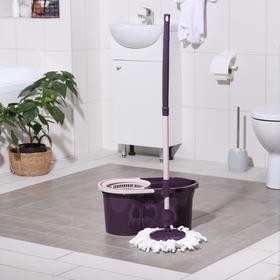 Набор для уборки «ECO MOP STYLE», 14л, цвет фиолетовый