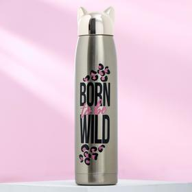 "Термос ""Born to be wild"", 350 мл, сохраняет тепло 12 ч"