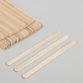 Шпатель для депиляции, деревянный, 11,4 × 1 см Ош