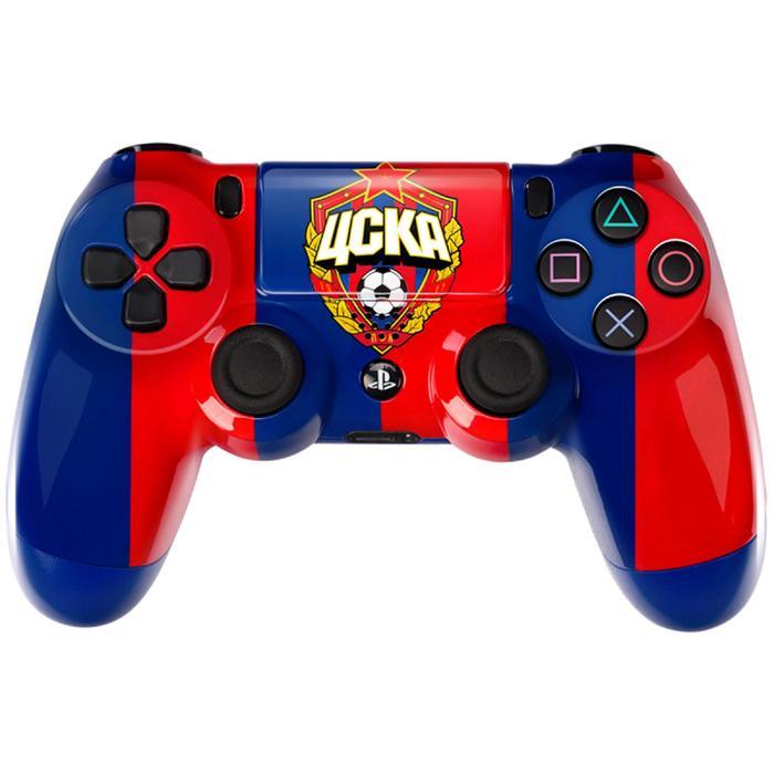Беспроводной геймпад для Sony PlayStation 4 DualShock 4«Красно-синий»