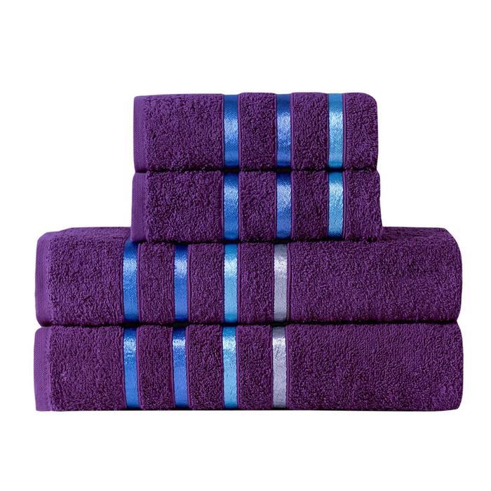 КМП Bale 50х80 см - 2 шт, 70х140 - 2 шт, цвет фиолетовый