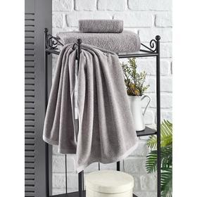 Полотенце Efor 40x60 см, цвет серый