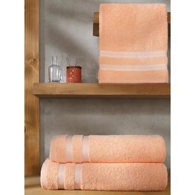Полотенце Petek, размер 50x100 см, цвет абрикосовый
