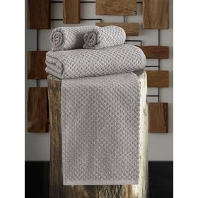 Полотенце Dama 40x60 см, цвет кофейный