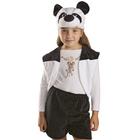 """Детский карнавальный костюм """"Панда"""", 3 предмета, рост 122-128 см"""