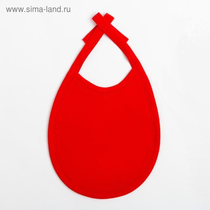 "Слюнявчик Крошка Я ""Первый НГ"", 18х13 см"