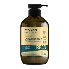 Крем для рук и тела Ecolatier «SOS Глубокое увлажнение», алоэ вера, кокос & пантенол, 400 мл