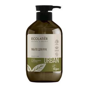 Жидкое мыло для рук Ecolatier алоэ & миндальное молочко, 400 мл