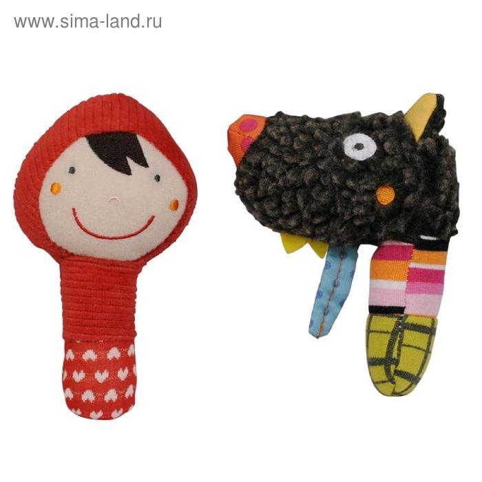 Мягкая игрушка «Маракасы», волчонок и красная шапочка