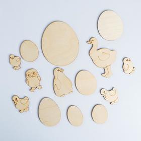 Заготовки для творчества «Птенцы»