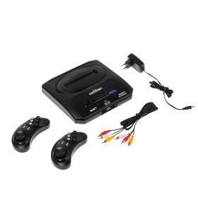Игровая приставка Sega Retro Genesis Modern Wireless,16 Bit, 2 беспр. джойст.,170 игр,черная Ош